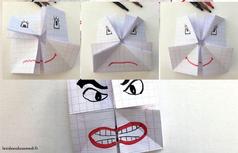 visage origami