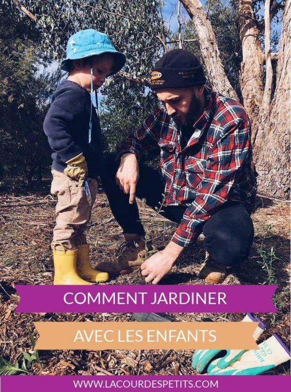 Comment jardiner avec les enfants